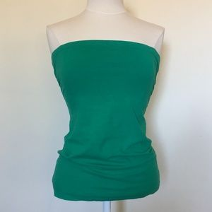 Zenana Outfitters Green Tube Top (L)